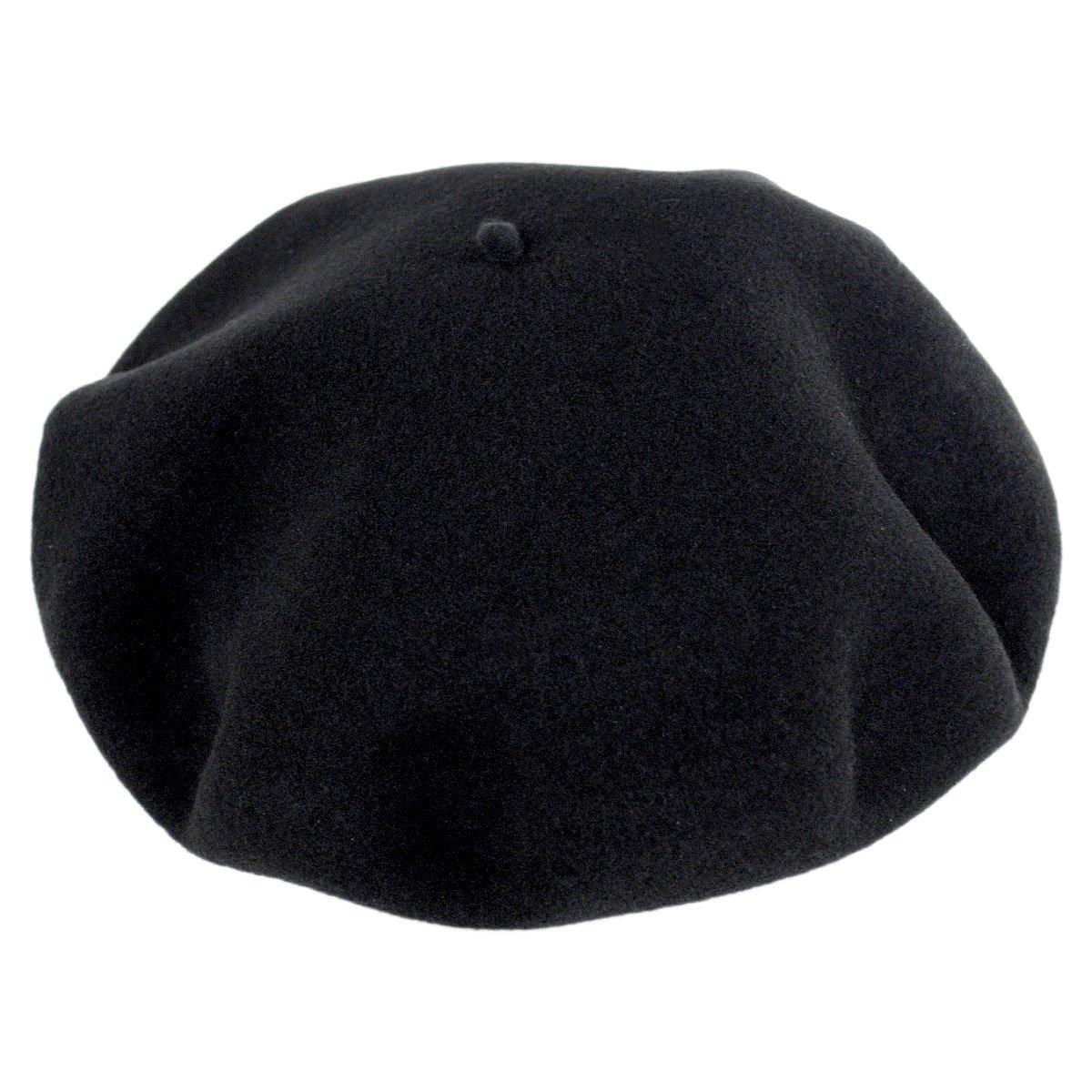Hoquy Wool Basque Beret and Luxury Box - Black (63 cm)