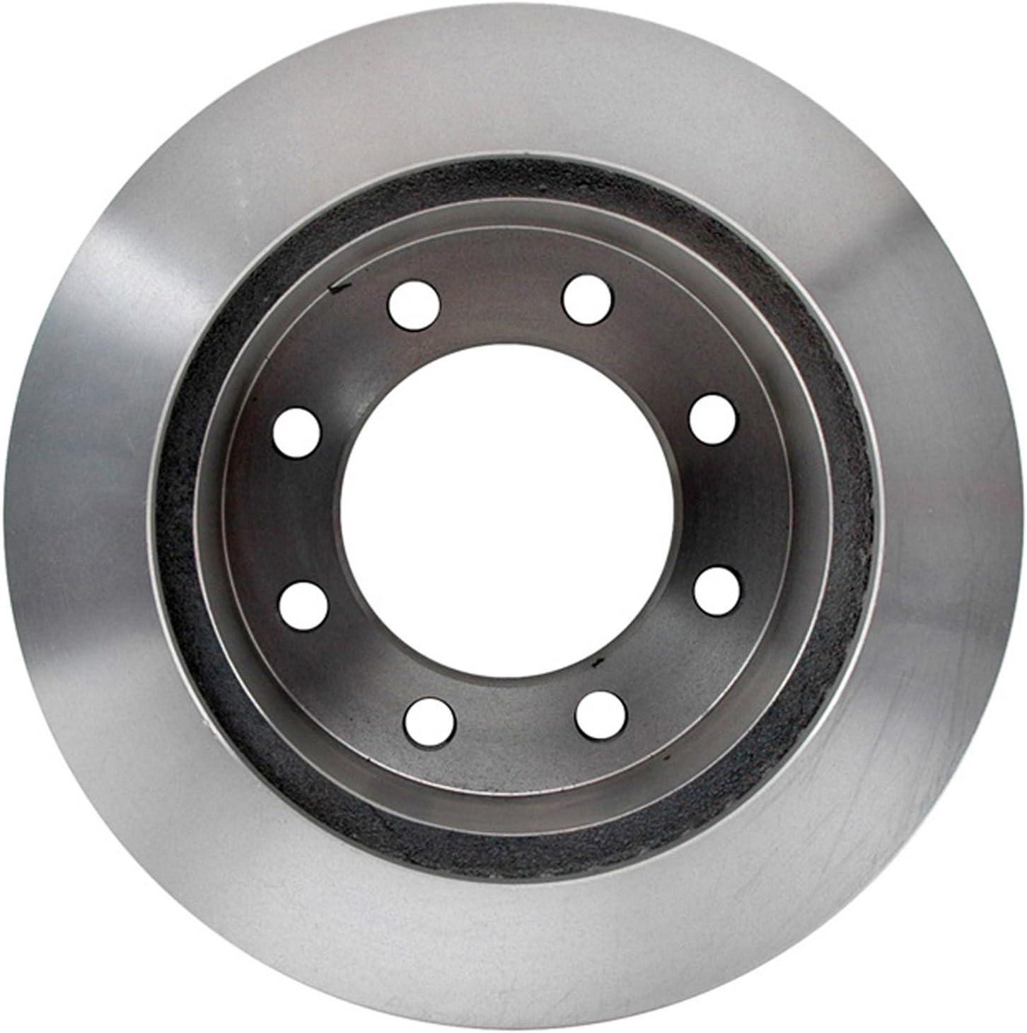 ACDelco 18A1307A Advantage Non-Coated Rear Disc Brake Rotor