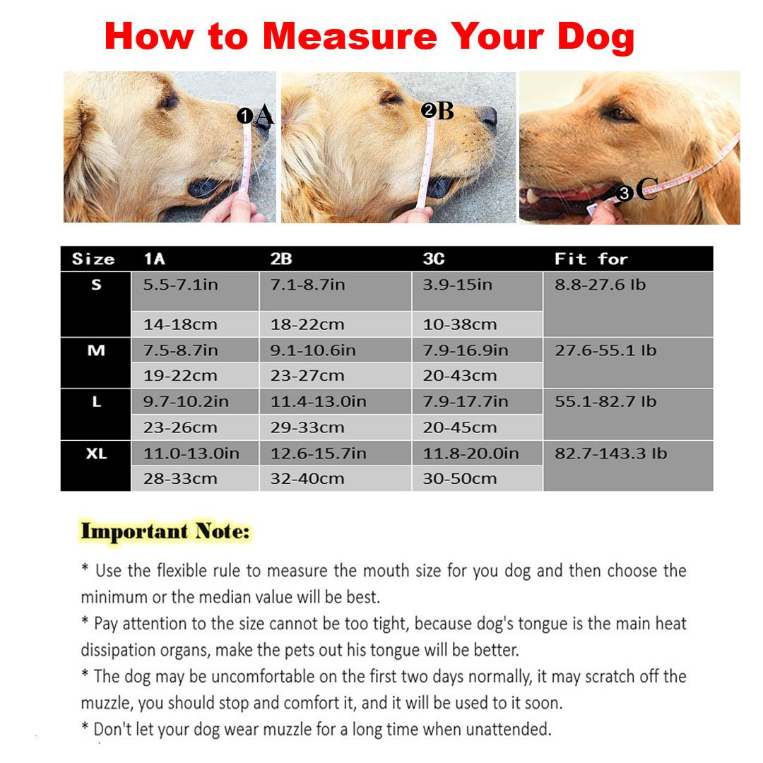 Ennc Pet Muzzles Adjustable Anti-biting Leather Dog Muzzle Flexible Leather Breathable Safety Pet Dog Muzzles Mask for Biting and Barking Lightweight and Durable for Dogs Puppy by Ennc (Image #2)