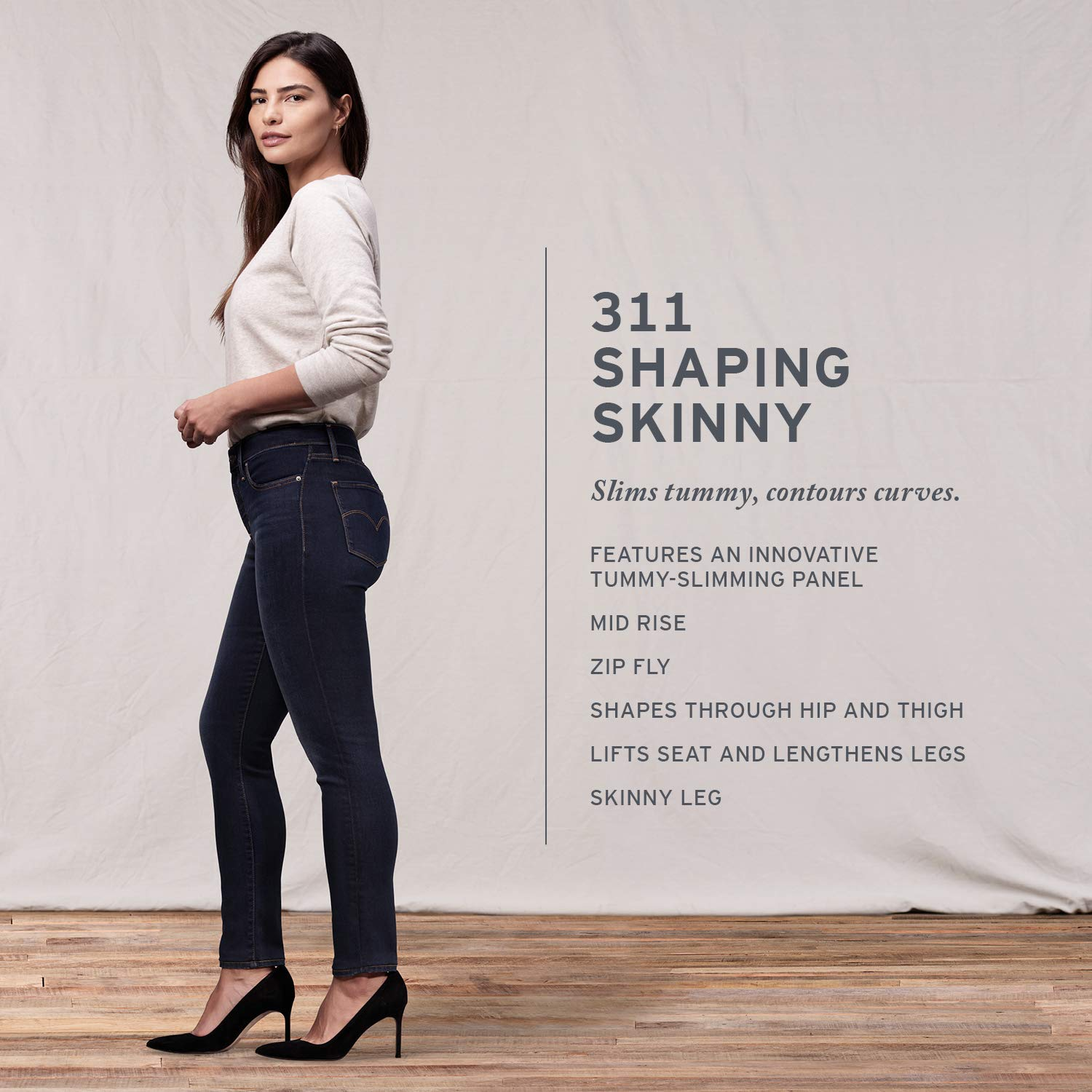 newest collection newest style of unbeatable price Levi's Women's 311 Shaping-Skinny Jean