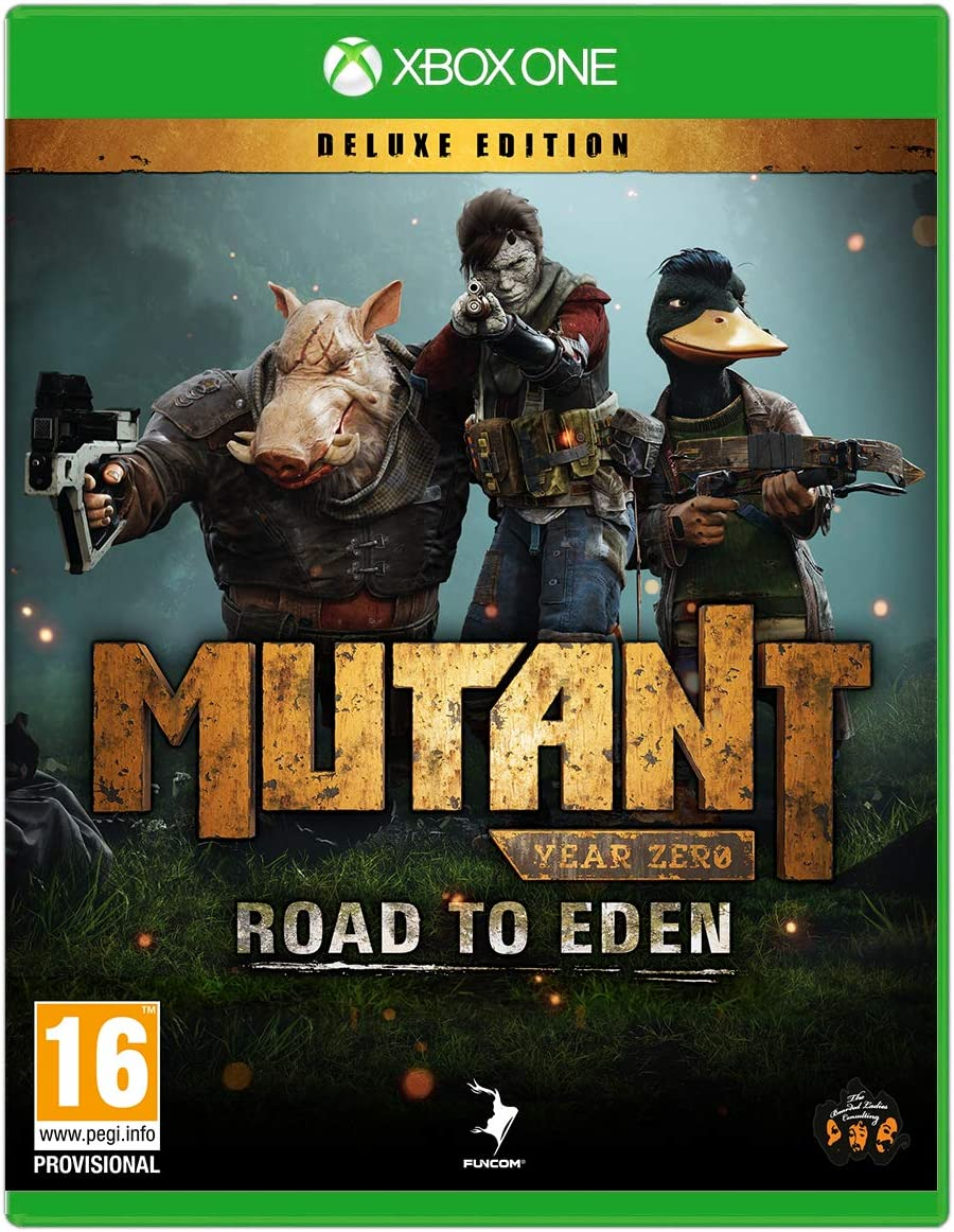 Mutant Year Zero: Road to Eden - Deluxe Edition: Amazon.es: Videojuegos