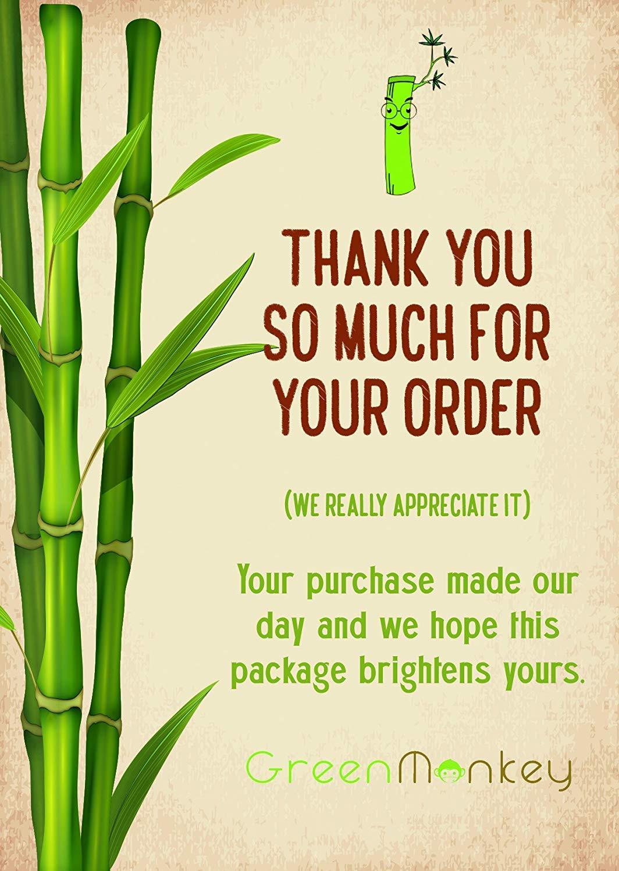 Almohadillas biodegradables ecológicas de madera de bambú orgánico ...