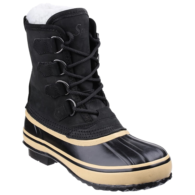 Unisex Fleece Lined Lace Up Wellington/Snow Boots