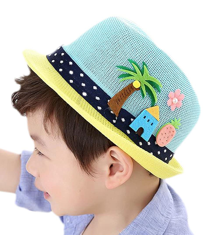 Vi.yo Lovely Baby Mesh Sombrero de Paja Cute Children Sun ...