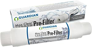 Guardian Hot Tub Spa Pool Garden Hose Carbon Pre Filter- Removes Most Chlorine Sediment Volatile Organic compounds - Up to 8,000 gallons