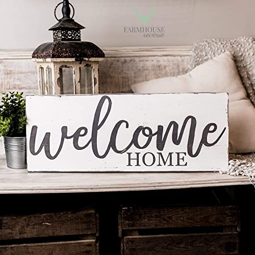 Amazon Com Welcome Home Sign Rustic Signs Rustic Home Decor