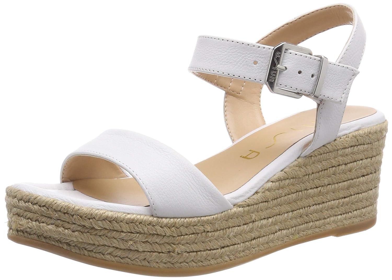 Blanc (blanc blanc) Unisa Kalka_sty, Sandales Sandales Bride Cheville Femme  mode classique