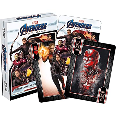 Aquarius Marvel Avengers End Game Movie Playing Cards: Toys & Games