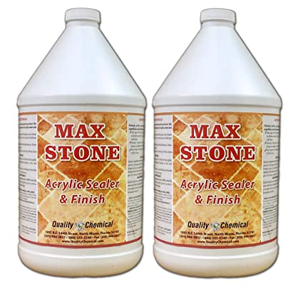 Amazon Com Max Stone Sealer Finish An Acrylic Polymer