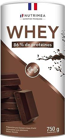 Proteína Whey en Polvo - Suero de leche - Para Entrenar, el Crecimiento Muscular, el Rendimiento, la Recuperación - Sabor a Chocolate - 26 g de ...