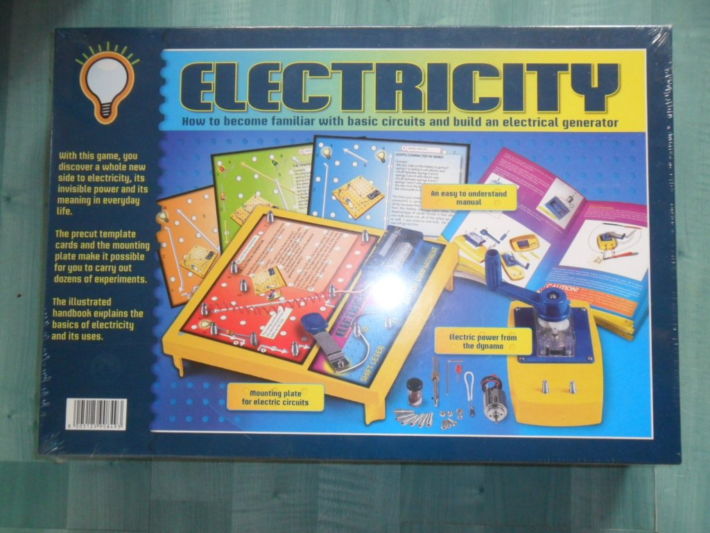 Electricity How To Become Familiar With Basic Circuits Build An Make Electric Circuit Electrical Generator Educational Game Age 8 Toys Games