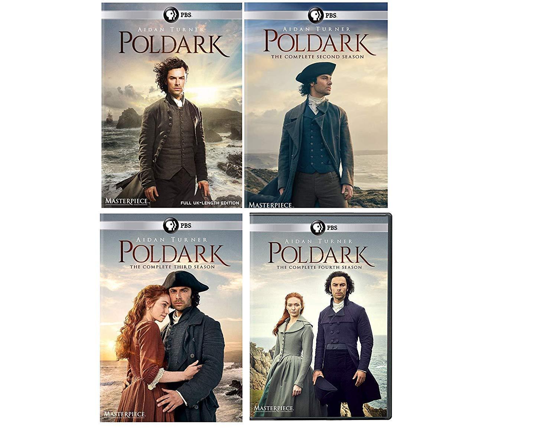 Poldark: Complete Series Seasons 1-4 DVD