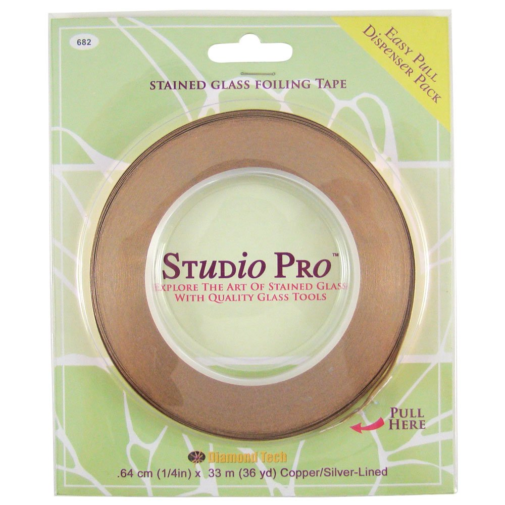 Studio Pro 1/4-Inch Silver Lined Copper Foil Diamond Tech International 682