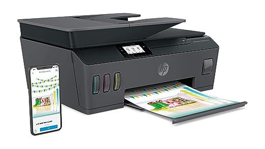 HP Smart Tank Plus 655 - Impresora multifunción inalámbrica (imprime, copia y escanea desde el móvil), Fax, Bluetooth, conectividad Wi-Fi, incluye ...