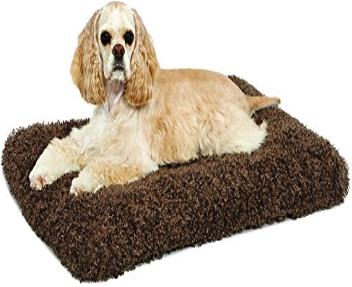 MidWest Homes for Pets Deluxe Super Plush Pet Beds, Machine Wash & Dryer Friendly, 1-Year Warranty