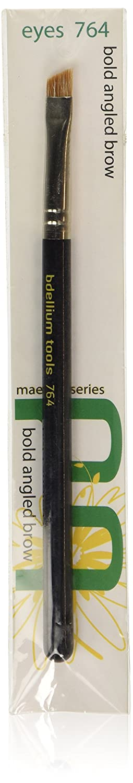 Bdellium Tools Maestro Series Bold Angled Brow Brush, Black BD-MAESTRO-764