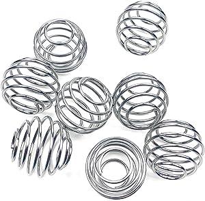 Shaker Balls, 6 Pcs Protein Shaker Ball Stainless Steel Blender Ball Replacement Shaker Ball for Shaker,Drinking Bottle Cup