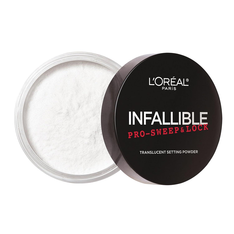 L'Oreal Paris Infallible Pro-sweep & Lock Setting Powder, Translucent, 8g L'Oreal Paris