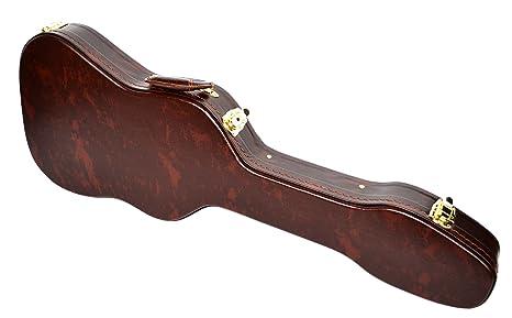 Nuevo color marrón Carcasa guitarra eléctrica carcasa rígida ...