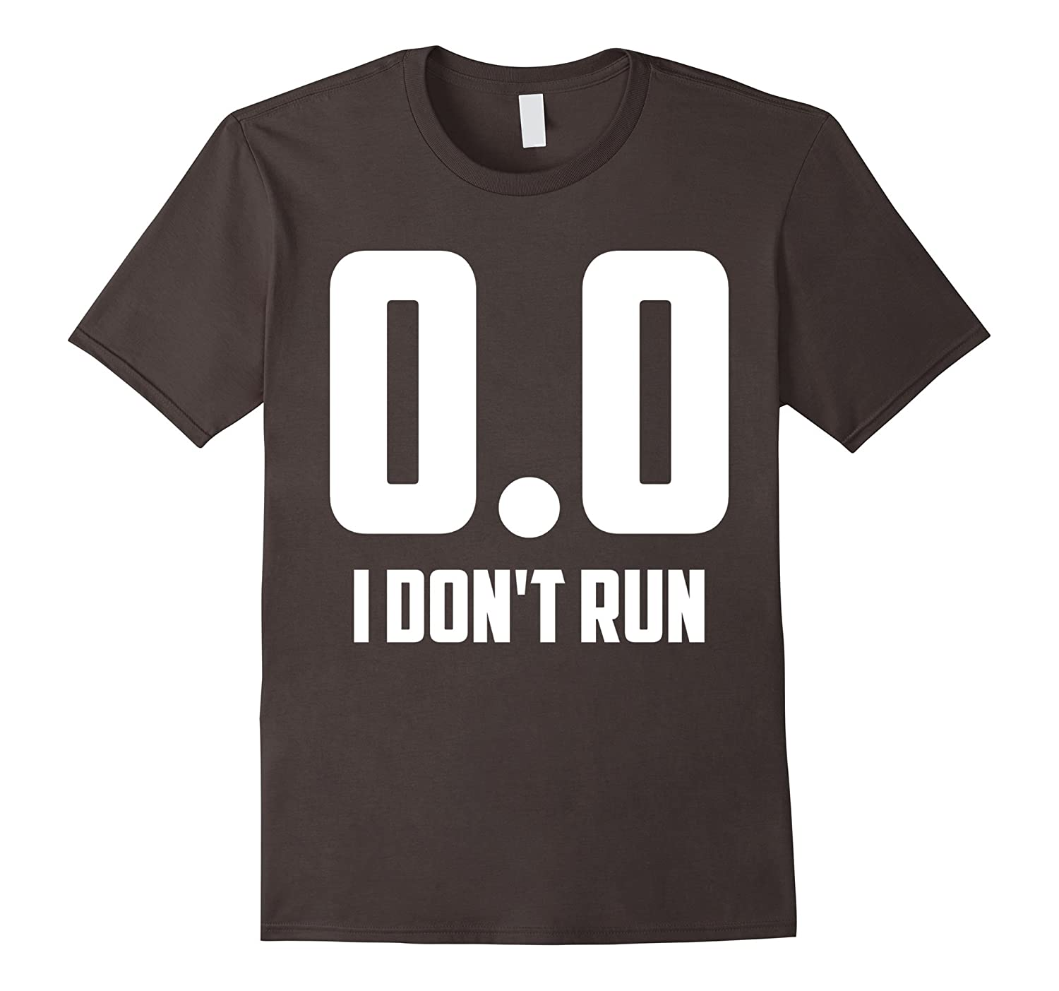 00 I Dont Run Emoji T-Shirt-TH