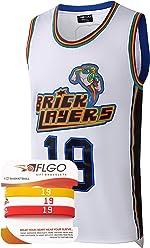 ecb230b38d11 AFLGO Aaliyah Jersey  19 Brick Layers MTV Rock N Jock Basketball Jersey – 90 s  Clothing