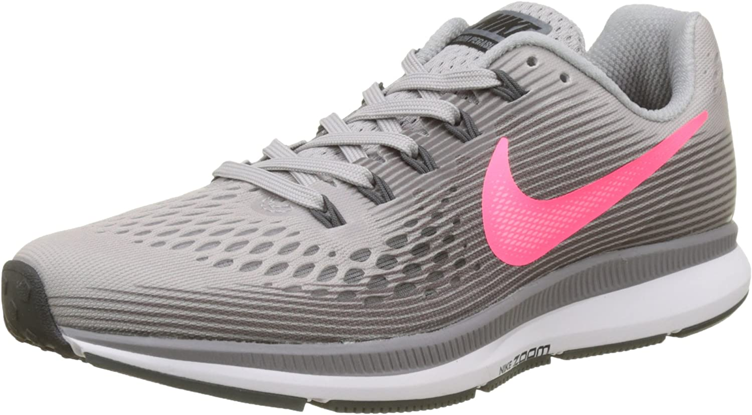 Nike WMNS Air Zoom Pegasus 34 880560-006 Grey Pink Women s Running Shoes