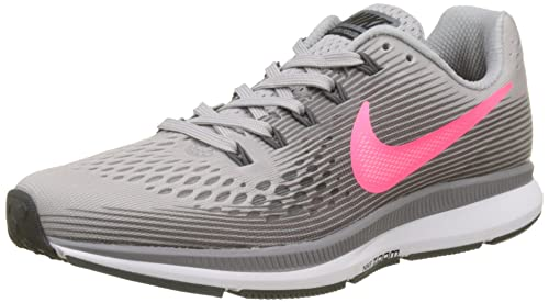 free shipping 0e234 aca44 Nike Air Zoom Pegasus 34, Scarpe da Fitness Donna, Multicolore (Atmosphere  Grey