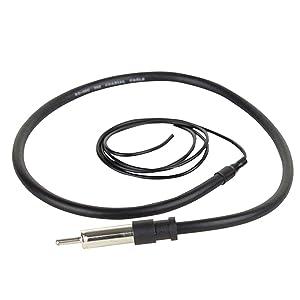 BOSS Audio MRANT10 Weatherproof Marine Dipole Hideaway Antenna