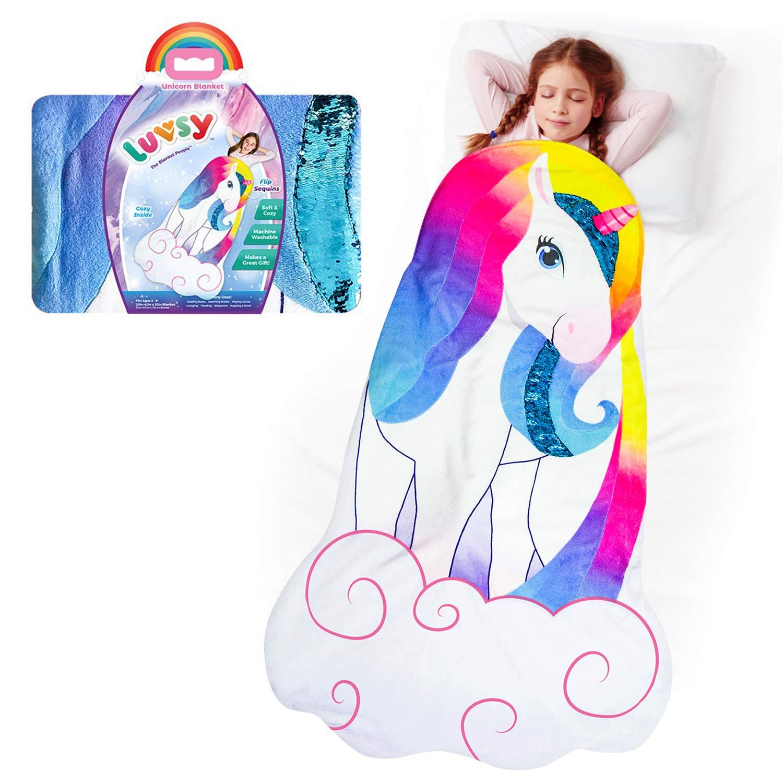Amazon.com  Unicorn Snuggle Blanket a923e832a