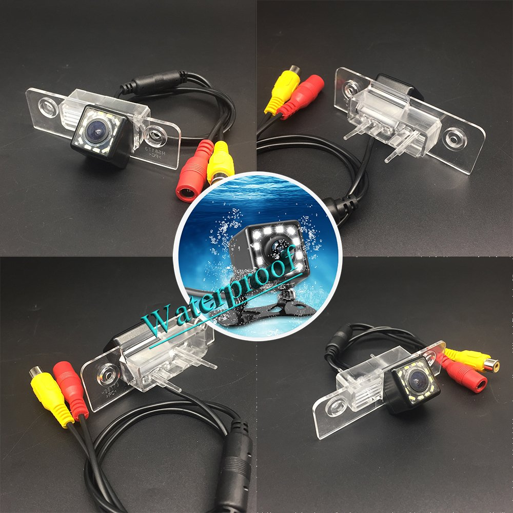 12 LED Ford Flex Ford Fusion Ford Fiesta ST//Classic//Ikon aSATAH 5558990242 Ford Taurus /& HD CCD Night Vision Waterproof and Shockproof Reversing Backup Camera LEDs Car Rear View Camera for Ford Mondeo MK2 MK3