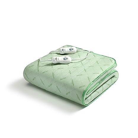 Imetec 6998 Calentador de cama eléctrico 150W Verde Tereftalato de polietileno (PET) - Manta