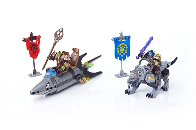 Mega Bloks 91025 World of Warcraft Persecución en Barren Lands: Amazon.es: Juguetes y juegos