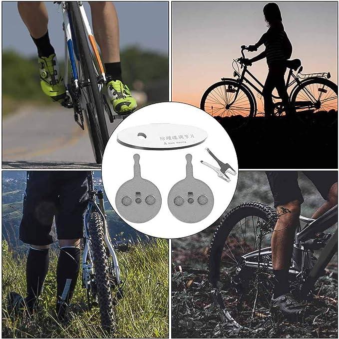 2 Pair Round Mountain Road Bike Bicycle MTB Disc Brake Pad for shimano E/&BLUS