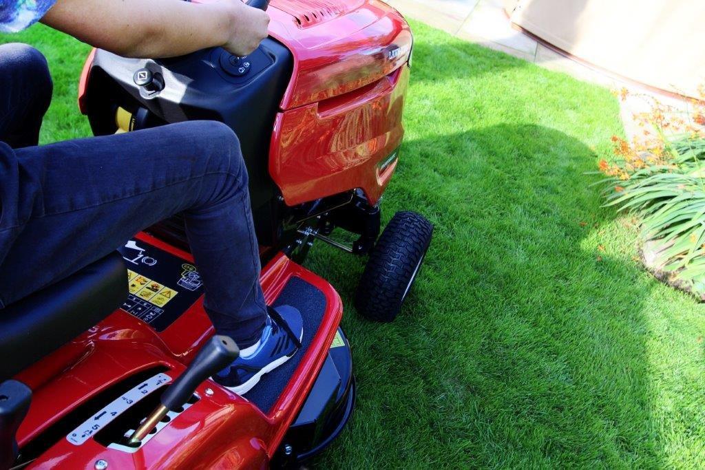 Lawn-king RE125 92 cm/36in corte trasero colección paseo en ...