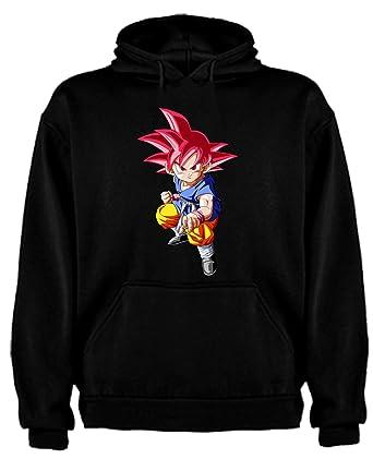 The Fan Tee Sudadera de NIÑOS Dragon Ball Son Goku Anime Vegeta Piccolo Akira Toriyama: Amazon.es: Ropa y accesorios