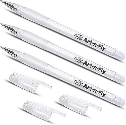 Penne Gel Bianch,Penna Bianca,Penna dalla punta fine,Penne per Schizzi,penna gel bianca per disegno,penna gel bianca punta fine 20