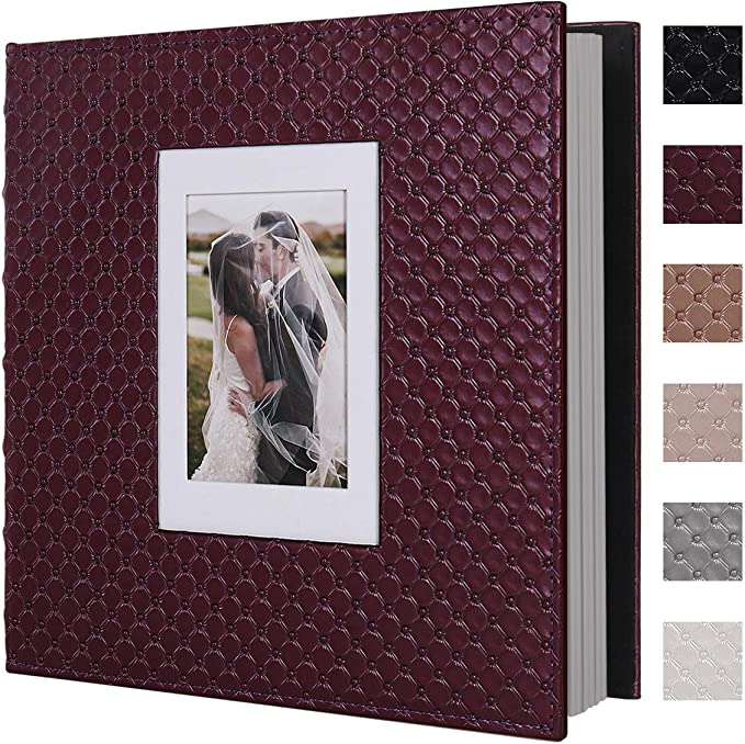 RECUTMS 60 Pages Picture Album Self Adhesive