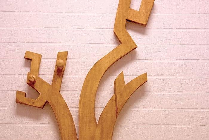 Colgador de madera - Perchero Árbol de madera - Medidor ...