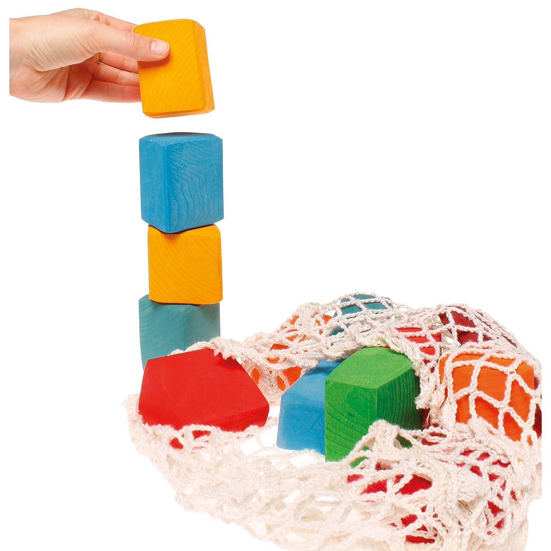 Grimm's Toys Large Coloured Blocks Grimm's Spiel & Holz Design 10010