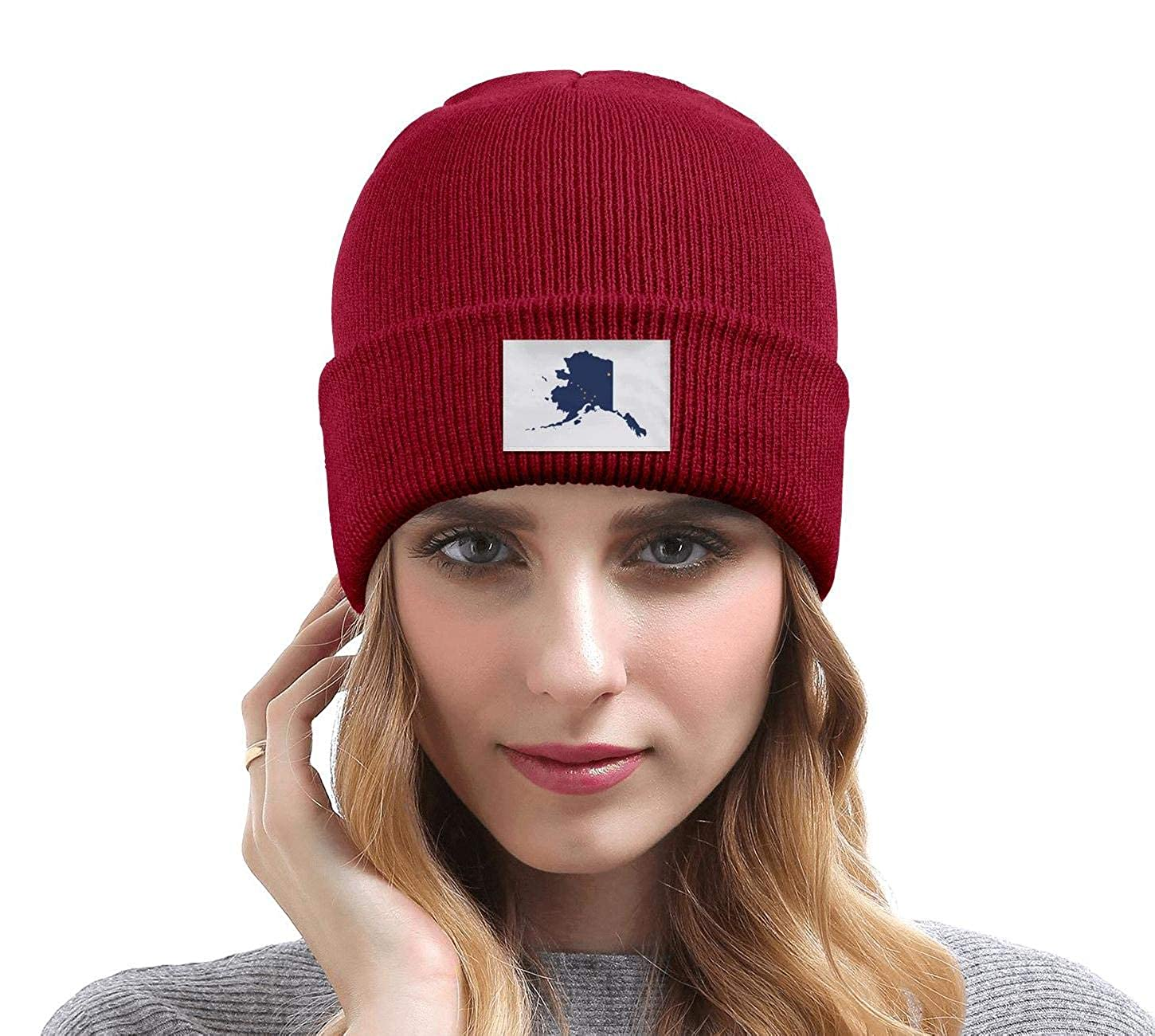 Unisex Drink Wisconsinbly in Cute Fonts Knit Hat Deliciously Soft Beanie Hat for Mens Womens