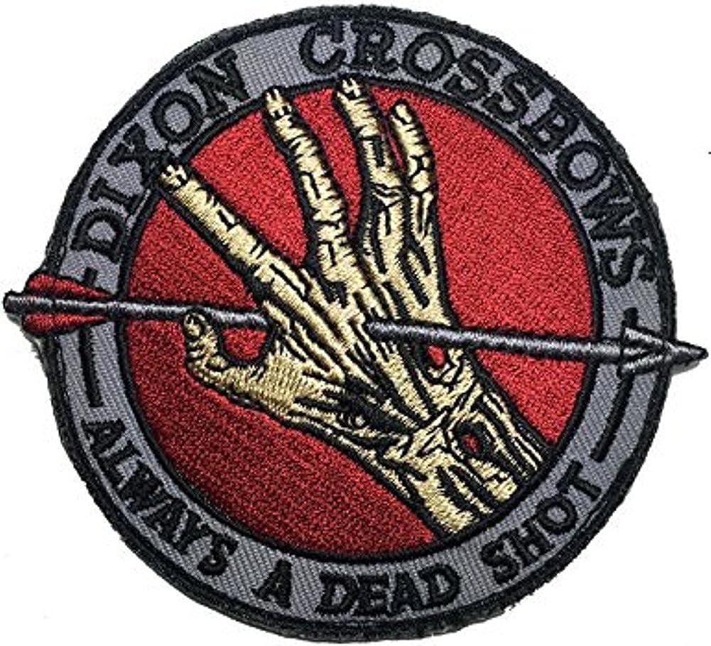 The Walking Dead Dixon Crossbows Iron On Patch: Amazon.es: Ropa y accesorios