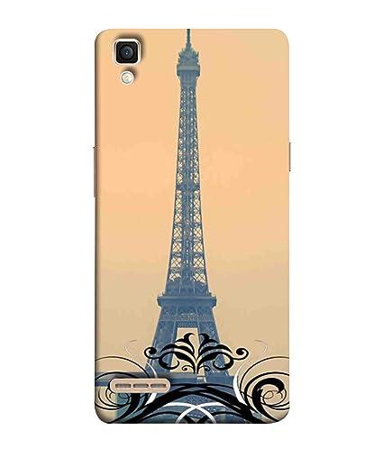 premium selection 90728 c312b Printfidaa Oppo F1 Back Cover Eiffel Tower in Paris: Amazon.in ...