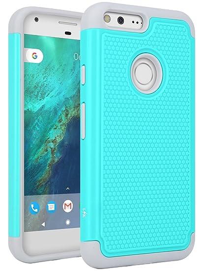 buy online 5e660 e9e3f Amazon.com: Google Pixel XL Case, LK [Shock Absorption] Drop ...