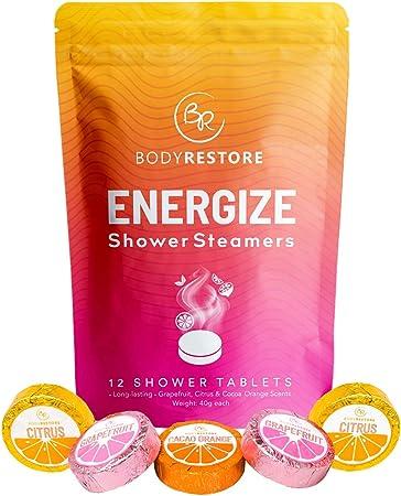 Essential Oil Shower Steamer Set - 12 Tablets