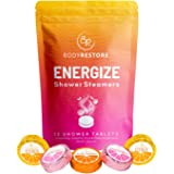 BodyRestore Shower Steamers (Pack of 12) Gifts for Women and Men - Grapefruit, Cocoa Orange & Citrus Essential Oil Scented Ar