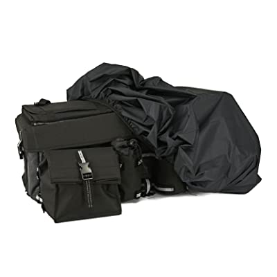 ATV Rear Bag with Waterproof Rain Cover and Insulated Cooler Bags: Automotive