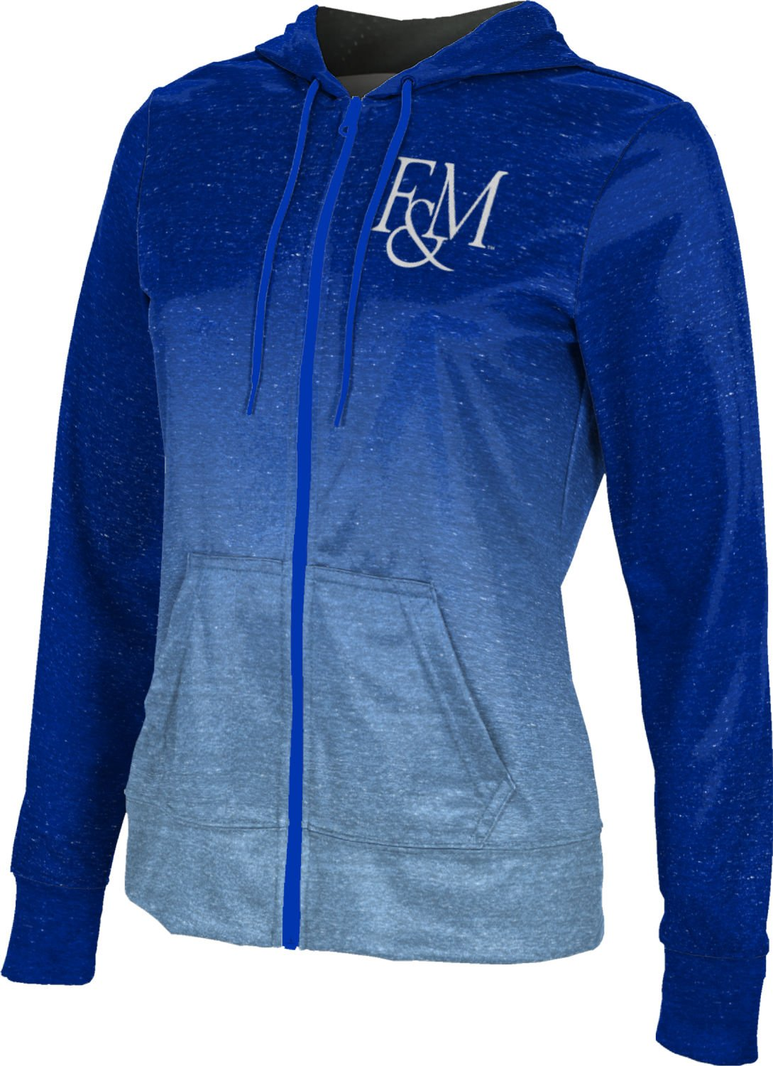 ProSphere Franklin & Marshall College Women's Fullzip Hoodie - Ombre FCFD1