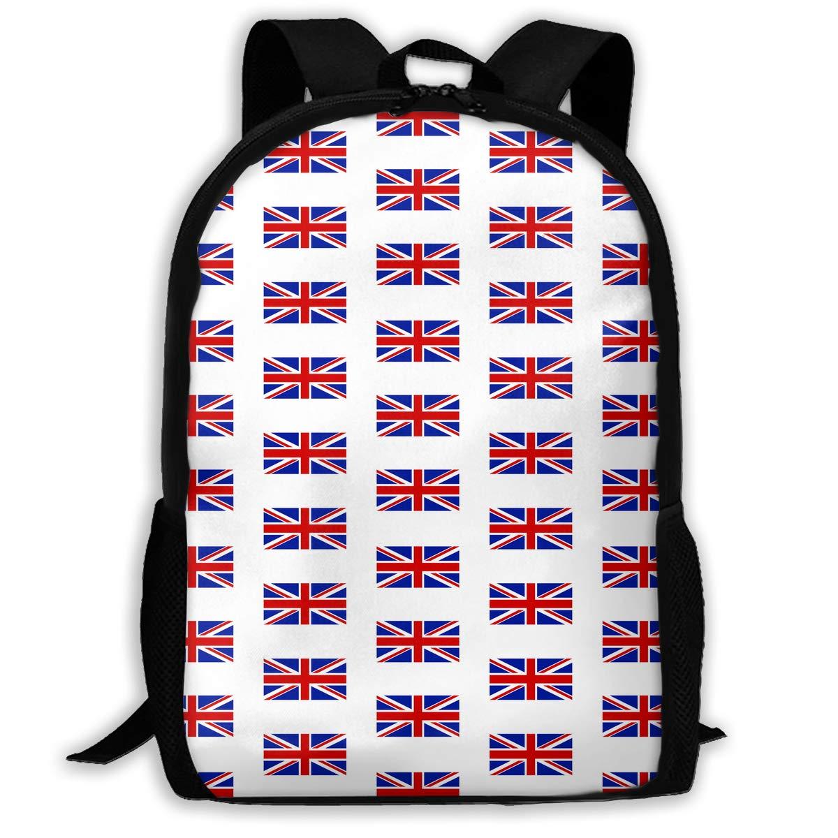 18dc79b513e7 Amazon.com : TAOHJS106 Flag of The United Kingdom Pattern Waterproof ...