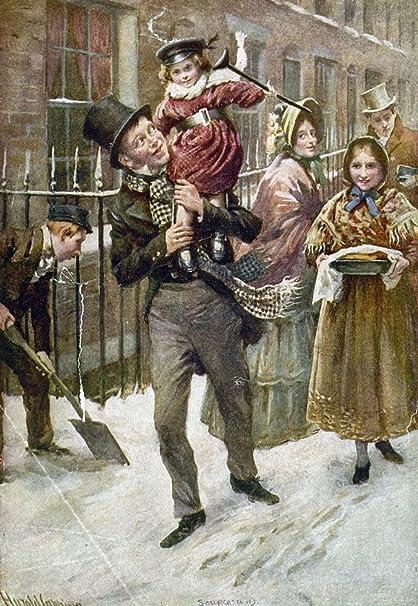 Tiny Tim A Christmas Carol.Amazon Com Dickens A Christmas Carol Nbob Cratchit And Tiny
