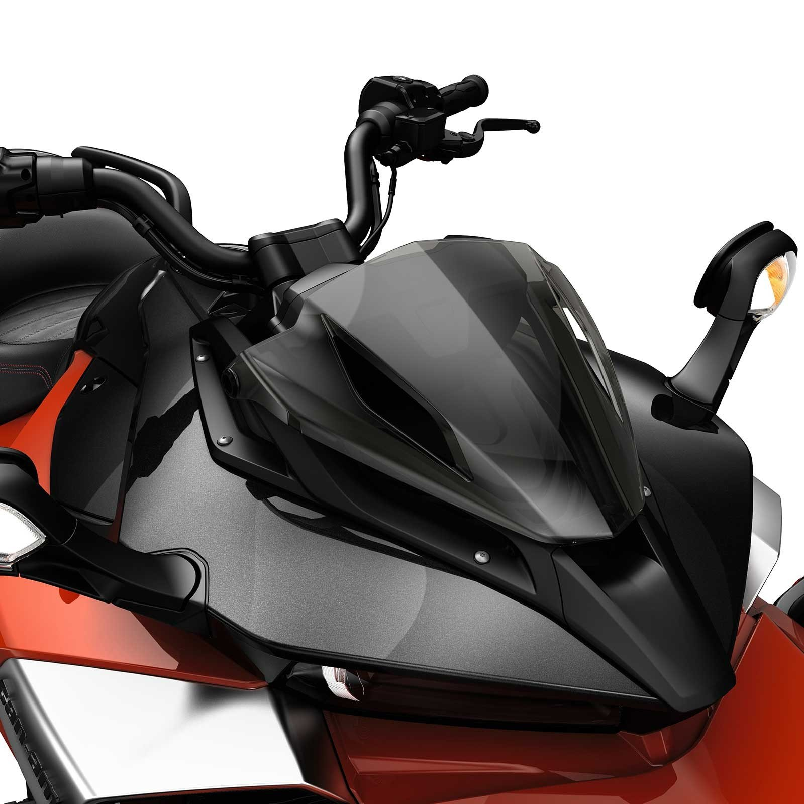 Can Am Spyder F3 Tinted Gauge Support #219400531